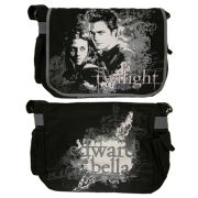 Twilight Edward and Bellas Vector Messenger Bag