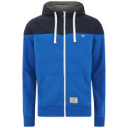 Gola Men's Cut & Sew Zip Hoody - Royal Blue/Navy