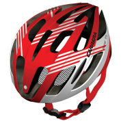Carrera Rocket Road Helmet Gloss Red/White