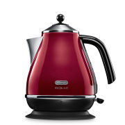 DeLonghi KBOM3001 Icona Micalite Kettle - Red