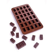 Choc-Ice Alphabet Mould Tray