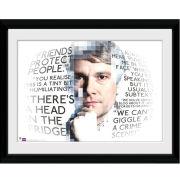 Sherlock Watson Quotes - 16x12 Framed Photographic
