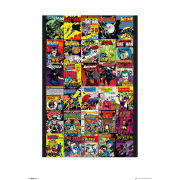 Batman Comic Covers - 60 x 80cm Print