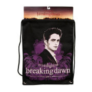 Twilight Breaking Dawn Edward Swirls Sack Bag