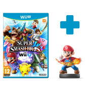 Super Smash Bros. for Wii U + Mario No.1 amiibo