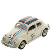 Hot Wheels Elite VW Beetle 1962 Herbie 1:43 Scale Model