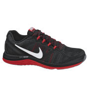 Nike Men's Dual Fusion Run 3 Running Shoes - Black/Red