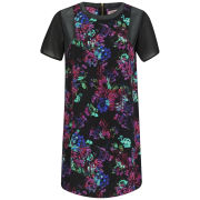 Neon Rose Women's Floral Cocoon Shift Dress - Multi
