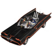 Hot Wheels Elite DC Comics Batman 1966 Batmobile With Figures 1:18 Scale Set