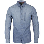 Ringspun Men's Wideboy Shirt - Chambray