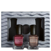 Deborah Lippmann Nails of Steel Set  - Exclusive (2 x 15ml)