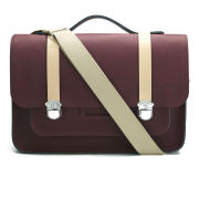 The Cambridge Satchel Company Men's Expedition Satchel - Oxblood/Natural