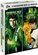 Ben 10 Alien Swarm/Race Against Time Double DVD