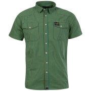 Boxfresh Men's Caerellius Short Sleeved Shirt - Lemon Chrome