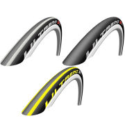 Schwalbe Ultremo ZX Clincher Road Tyre Black/Red 700c x 23mm + FREE Inner Tube