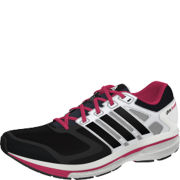 adidas Women's Supernova Glide 6 W Trainers - Black/White