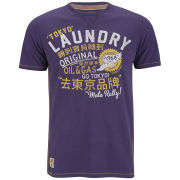 Tokyo Laundry Men's Toyo Rally T-Shirt - Washed Prune