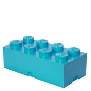 Lego Storage Brick 8 - Medium Azure