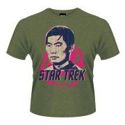 Star Trek Men's T-Shirt - Sulu Space