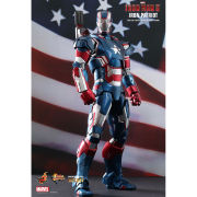 Hot Toys Iron Man 3 Iron Patriot Figure
