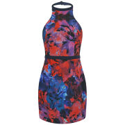 Finders Keepers Women's Winter Song Mini Dress - Rose Dark