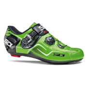 Sidi Kaos Carbon Cycling Shoes - Black/Green Fluo  - 2015