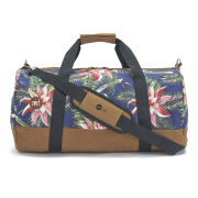 Mi-Pac Palm Floral Duffle Bag - Navy