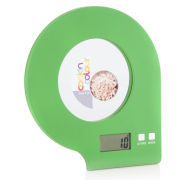 Cook In Colour 5kg Digital Glass Kitchen Scales - Green