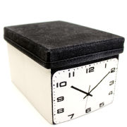 Mollaspace Home Entertainment Storage System - Clock