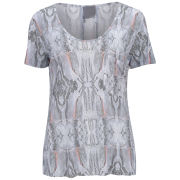 Lot 78 Women's Print Boyfriend T-Shirt - Molten Lava