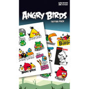 Angry Birds Phrases - Tattoo Pack