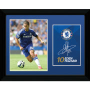 Chelsea Hazard 14/15 - 16x12 Framed Photographic