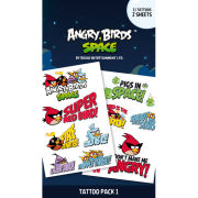 Angry Birds Space - Tattoo Pack
