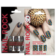 Rock Cosmetics Nail Rock Nail Wrap Duo-Doodad Colour and Disco