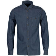 Marc by Marc Jacobs Men's Denim Long Sleeve Shirt - Indigo