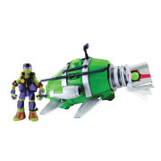 Teenage Mutant Ninja Turtles Underwater Stealth Shell with Exclusive Donatello
