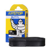 Michelin Airstop Road Short Valve Inner Tube - 20 Pack