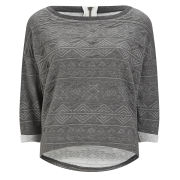 Only Women's Charlie Sweat Top - Dark Grey Melange