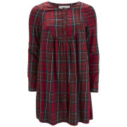 Vero Moda Women's Channet Tartan Smock Dress - Jester Red