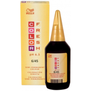 WELLA COLOR FRESH DARK RED MAHOGANY BLONDE 6.45 (75ML)