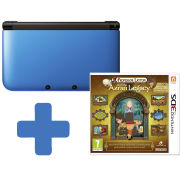 Nintendo 3DS XL Blue: Bundle includes Professor Layton and the Azran Legacy