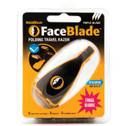 HeadBlade FaceBlade Travel Razor