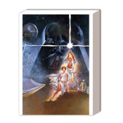 Star Wars A New Hope One Sheet - 40 x 30cm Canvas