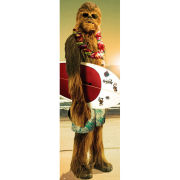 Star Wars Chewie Surf - Door Poster - 53 x 158cm