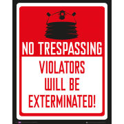 Doctor Who Keep Out - Mini Poster - 40 x 50cm