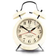 Covent Garden Medium Alarm Clock - Cream