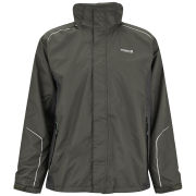 Regatta Men's Sangson Waterproof ISOTEX 5000 Jacket - Hawthorn/Ash