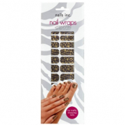 Nails Inc. Nail Wraps - Gold Leopard (24 Wraps)