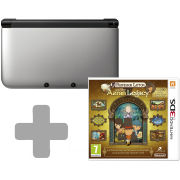 Nintendo 3DS XL Silver: Bundle includes Professor Layton and the Azran Legacy