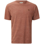 Farah 1920s Men's Stanley Crew T-Shirt - Clay
